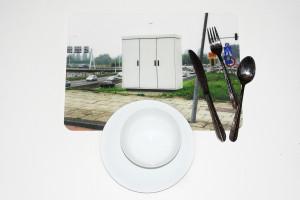 'Eten van de straat' placemat 3